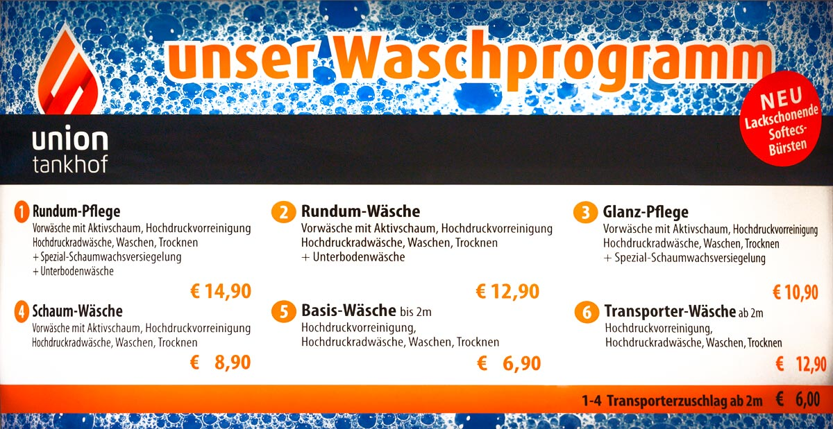 Waschprogramm